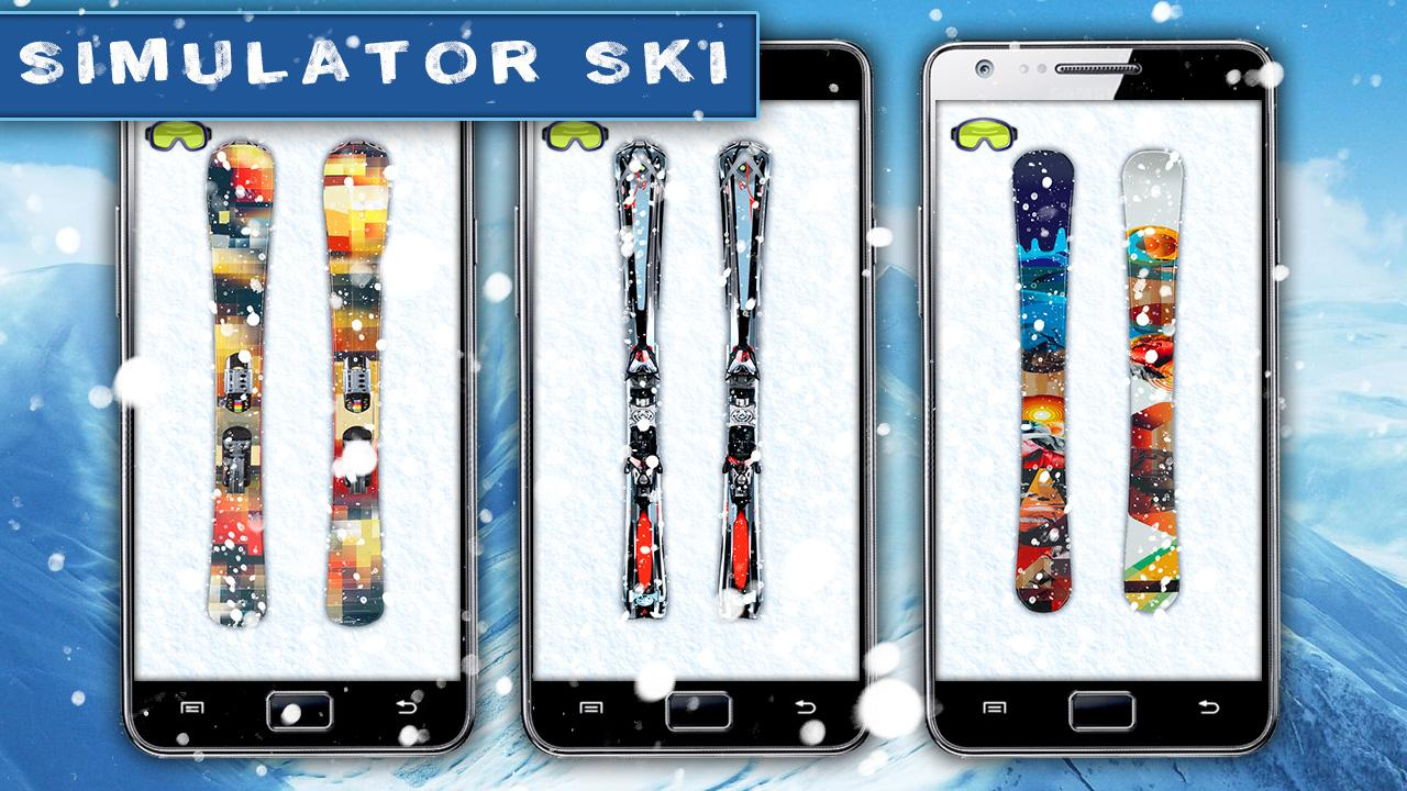 Simulator Ski - screenshot