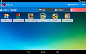 4 Kids Zone Parental Controls App screenshot