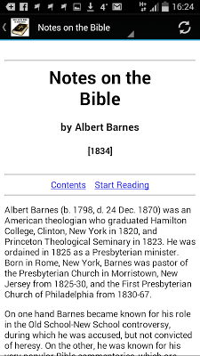 Notes on the Bible - screenshot