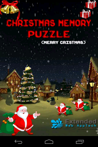 Christmas Memory Puzzle
