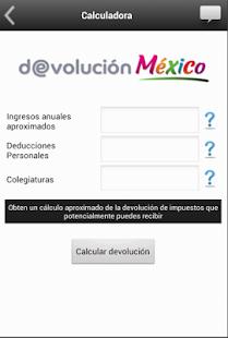 Devolución México - screenshot thumbnail