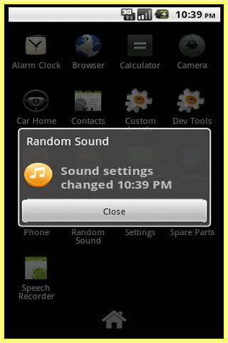 Random Sound- screenshot