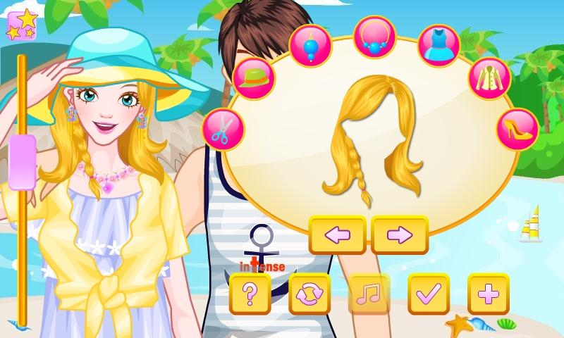 Stylish Honeymoon Dress Up - screenshot