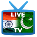 Live TV India Pakistan icon