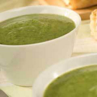 Savory Spinach & Potato Soup.