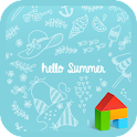 Hello Summer dodol theme icon