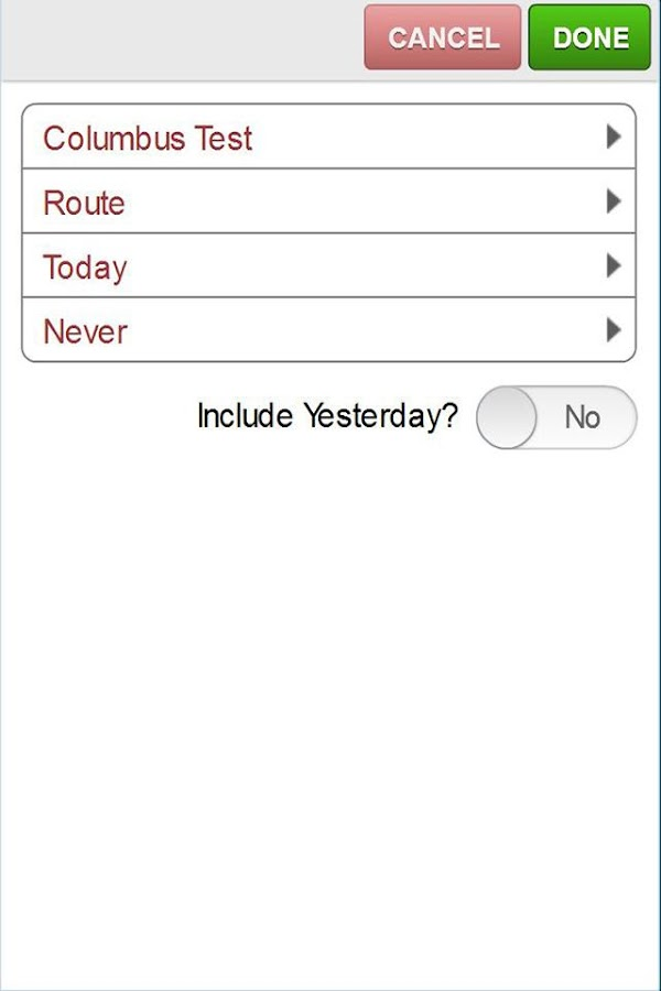 ServSuite Mobile- screenshot