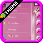 Pink Roses GO SMS Theme icon