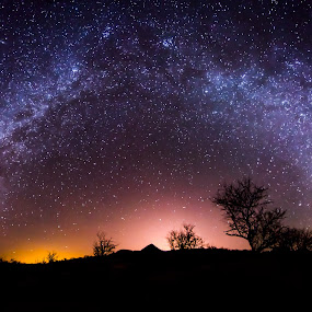 Arivaca by Ed Mullins - Landscapes Starscapes ( arivaca, milky way, panorama, panoramic, stitching, landscape, indoor, outdoor, challenge, competiton,  )