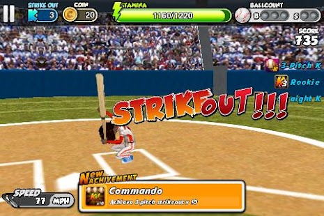 Flick Baseball- screenshot thumbnail