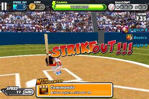 Flick Baseball- screenshot