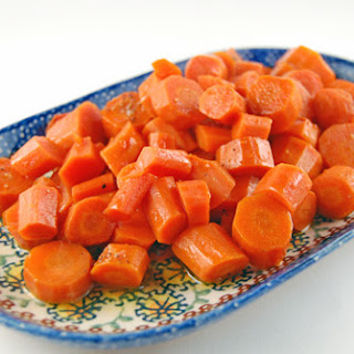 Honey Glazed Carrots in the Slow Cooker.