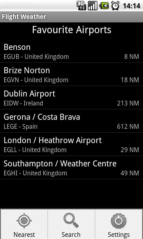 Flight Weather- screenshot