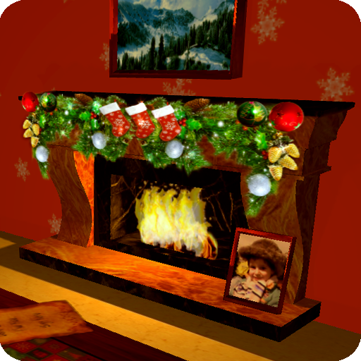 3D Christmas Fireplace HD Live Wallpaper Full APK Cracked Download