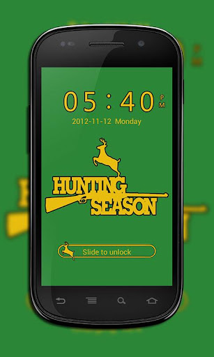 GO Locker Hunting Season Theme