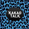 Blue Leopard Kakaotalk Theme