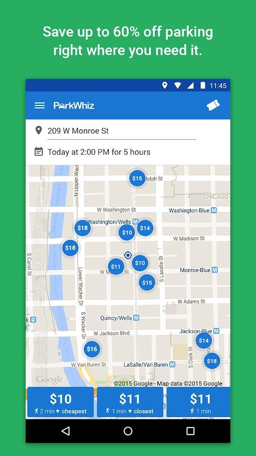 ParkWhiz - Parking Deals - screenshot