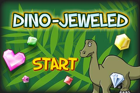 DinoGamez Dino Jeweled- screenshot