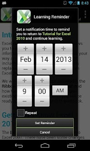 GCF Excel 2010 Tutorial - screenshot thumbnail