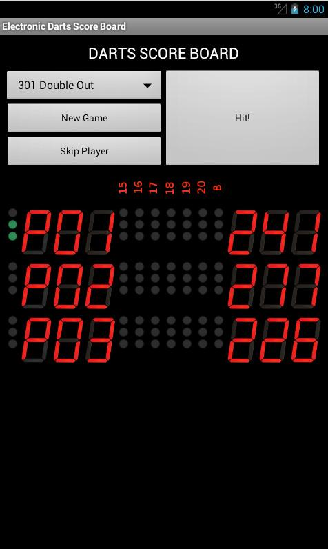 Electronic Darts Counter- screenshot