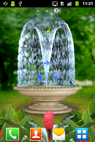 3D Fountain - screenshot