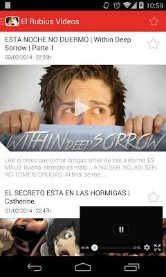 El Rubius Vídeos - screenshot