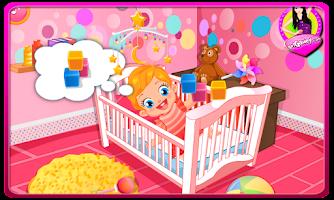 Screenshot of Baby Lizzie Diaper Change