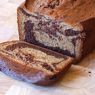 Marbled Chocolate- Banana Bread