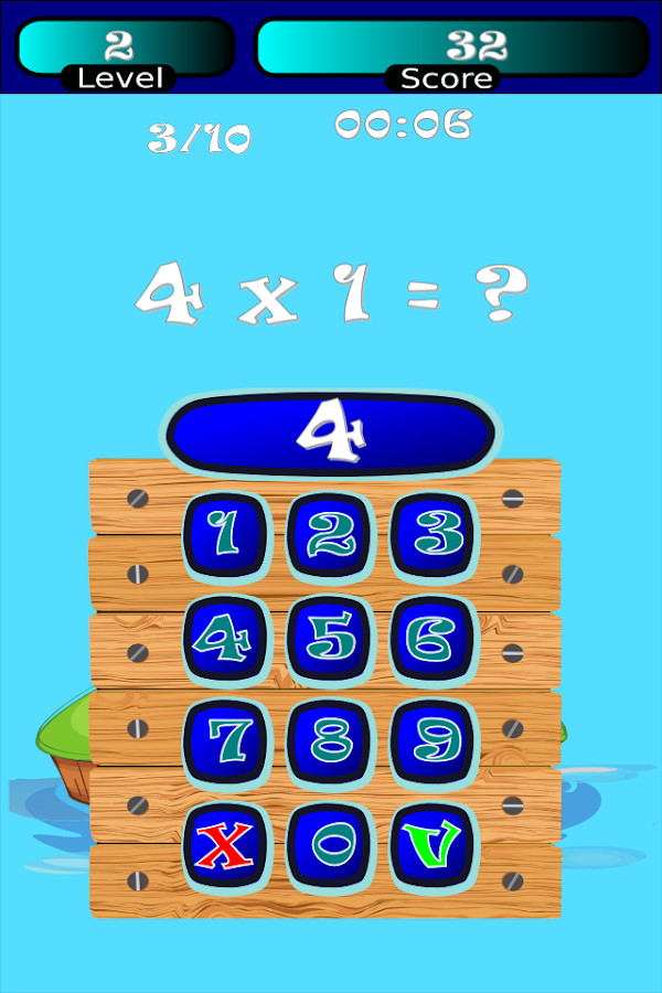 Times Tables Math Trainer FREE- screenshot