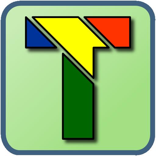 T Puzzle(Oriental Tangram)