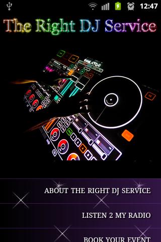 The Right DJ