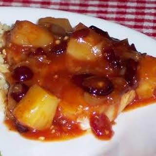 Bahama-Mama Pork Chops.