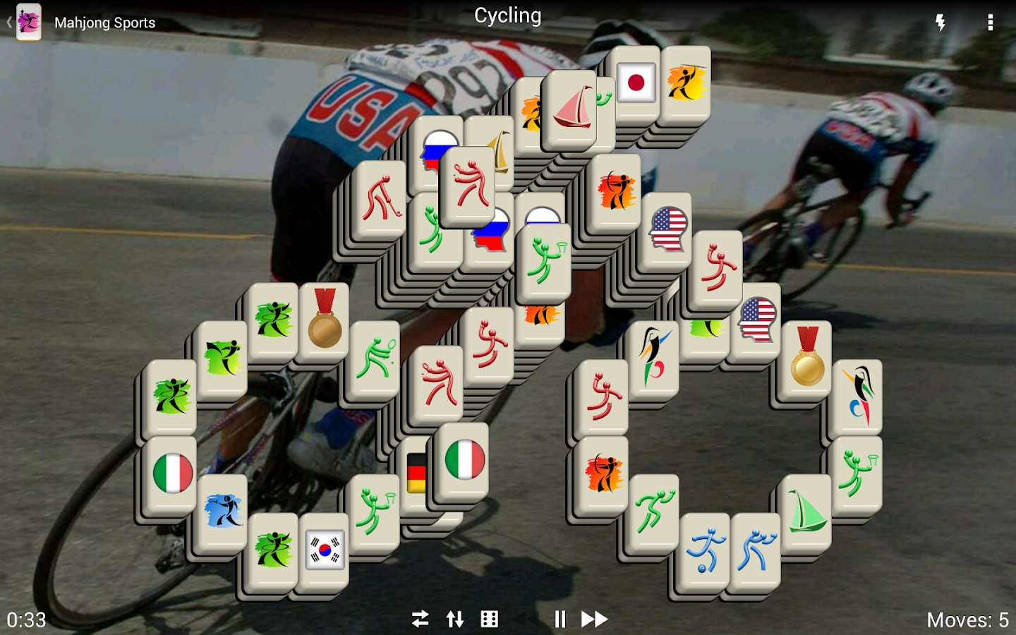 Mahjong Sports - Free- screenshot