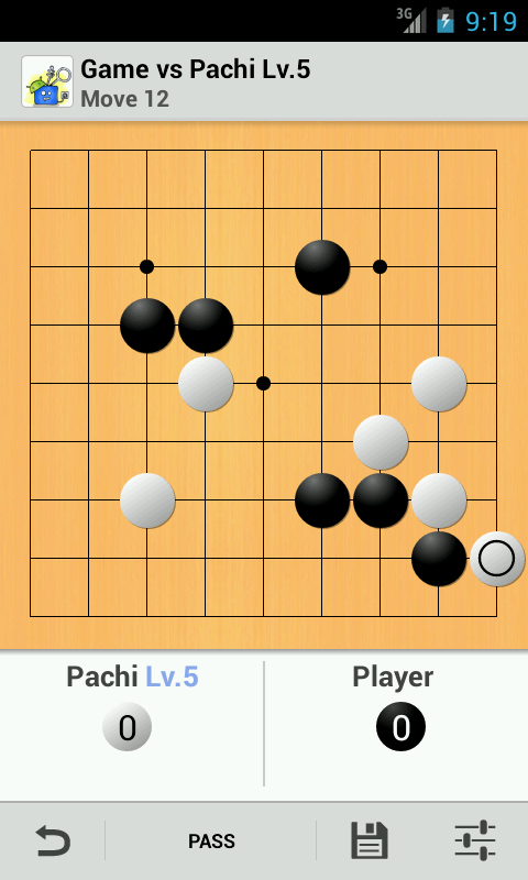 Pachi for Android (Go Game)- screenshot