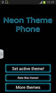 Neon Theme Keyboard Phone - screenshot thumbnail