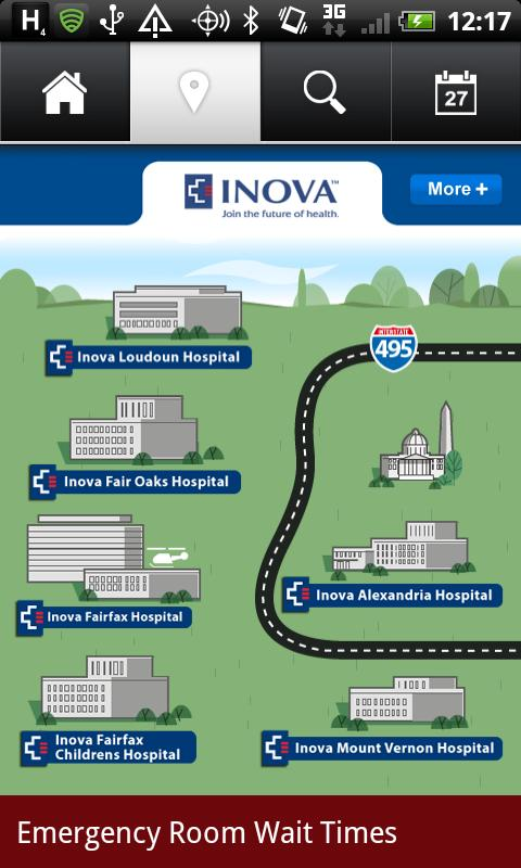 Visit Inova - screenshot