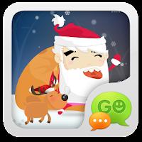 GO SMS Pro Santa Super Theme 1.0