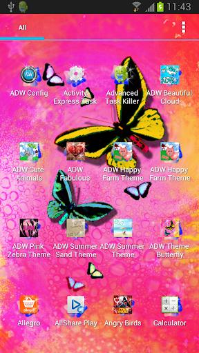 蝴蝶主題為ADW|玩個人化App免費|玩APPs