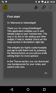 Note Widget - screenshot thumbnail