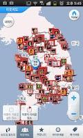 Screenshot of KOREA TRAVEL MAP with Google