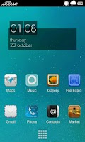 Screenshot of Athena HD Launcher Pro Theme