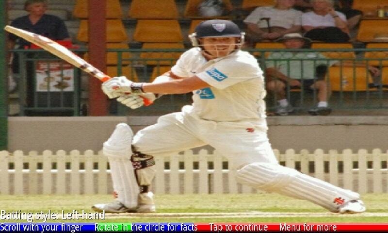 Test Cricketers of Australia 2- screenshot