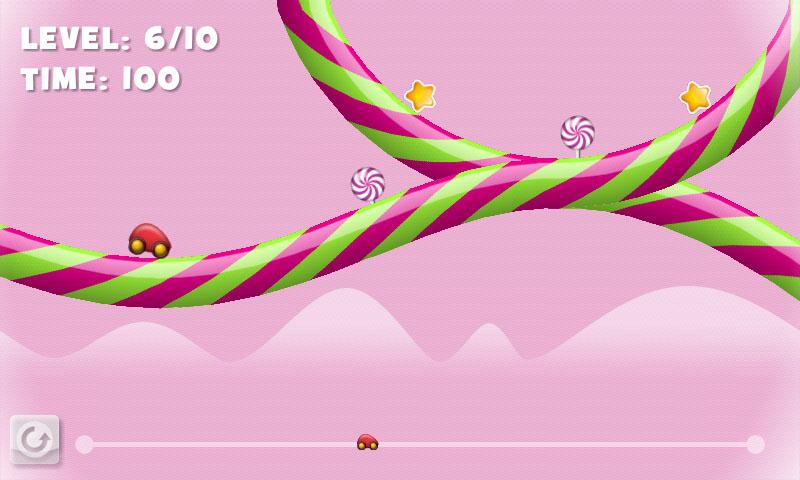 Candy Racer Free - screenshot