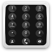 exDialer Iris Black theme