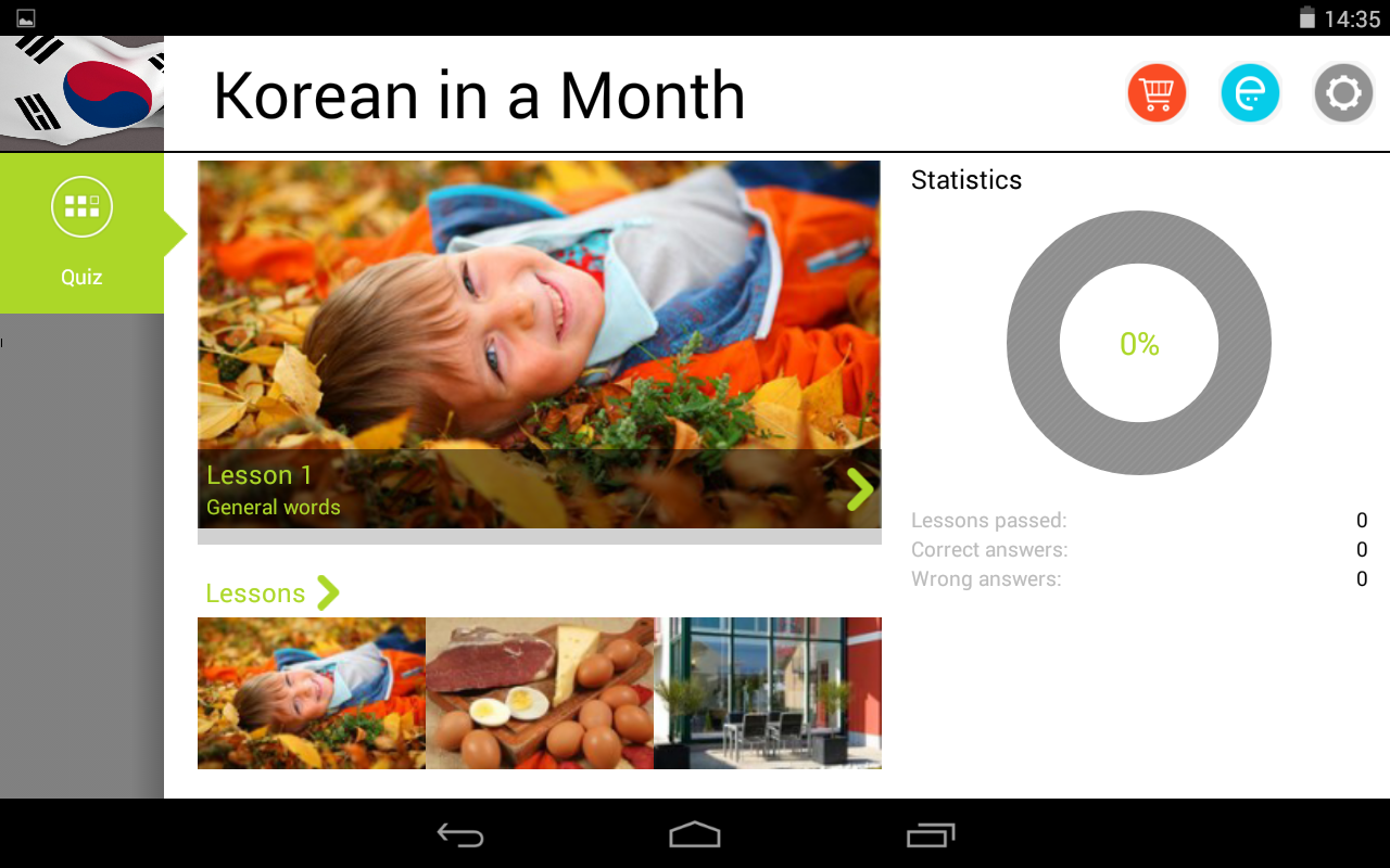 Korean in a Month Free- screenshot