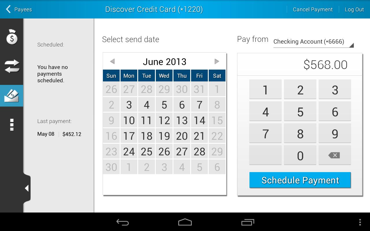 Mazuma Mobile Banking - screenshot
