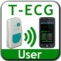 T-ECG User Telephonic ECG icon