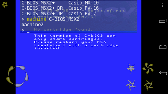 openMSX- screenshot thumbnail