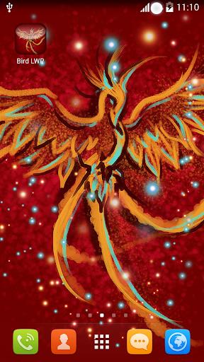 Fire Bird Live Wallpaper