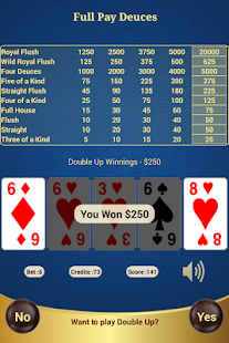 Full Pay Deuces Poker- screenshot thumbnail